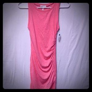 Leith sleeveless midi dress sz xxs